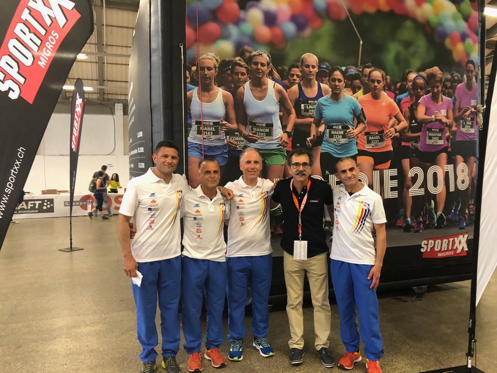 L'atletica San Costantino alla StraLugano in Svizzera