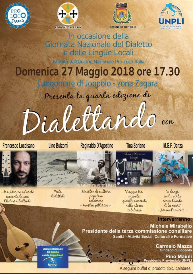 """La Proloco di Joppolo presenta: """"Dialettando 2018"""""""