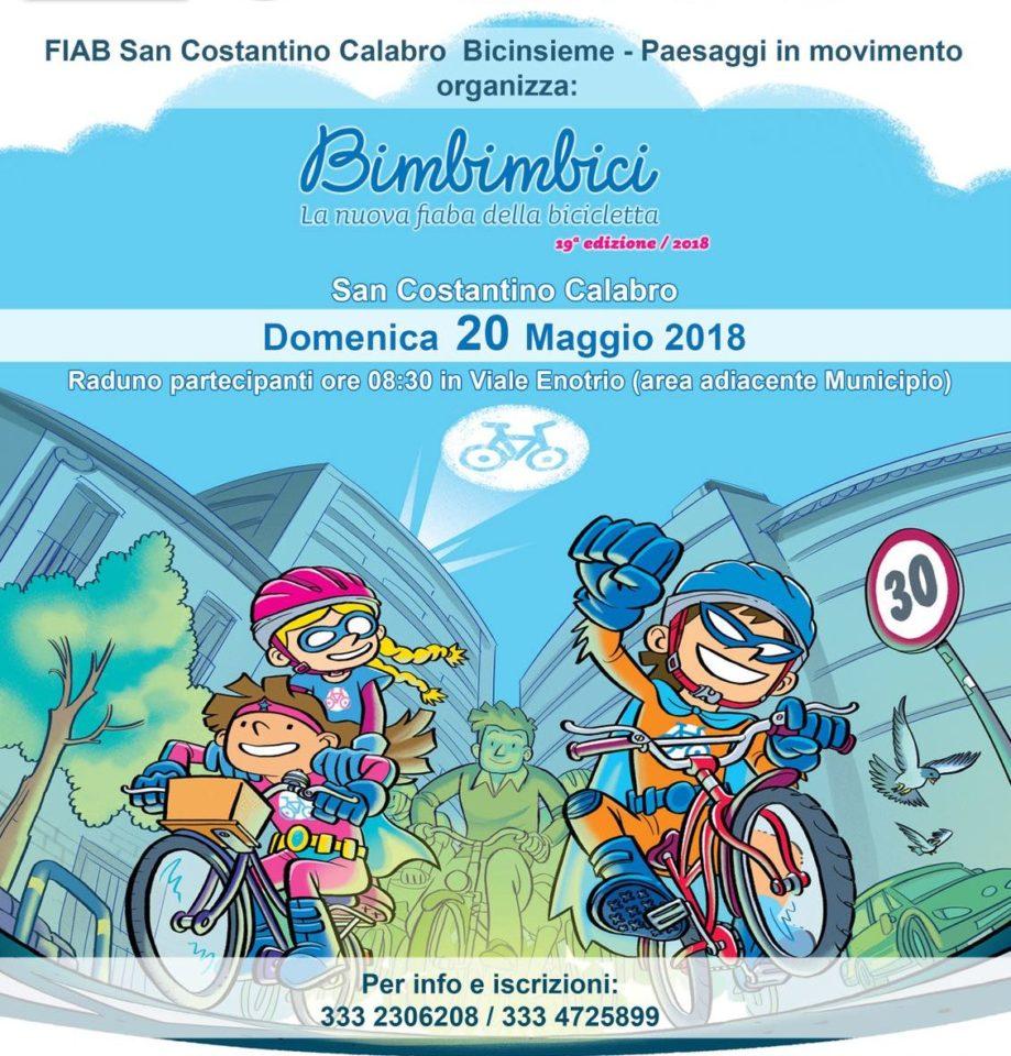 La San Costantino Bicinsieme organizzza la Bimbimbici 2018