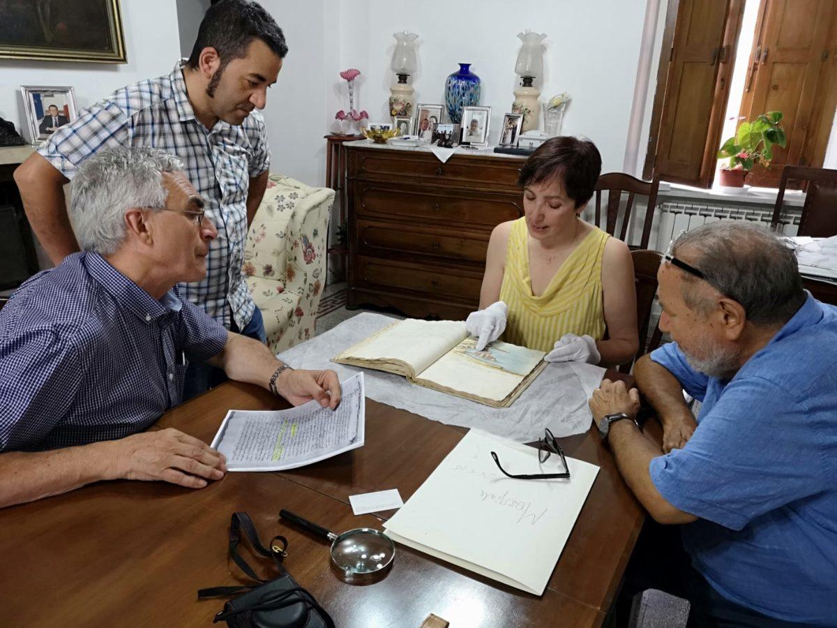 Dall'Università di Valladolid a Conidoni per vedere il Codice Romano Carratelli