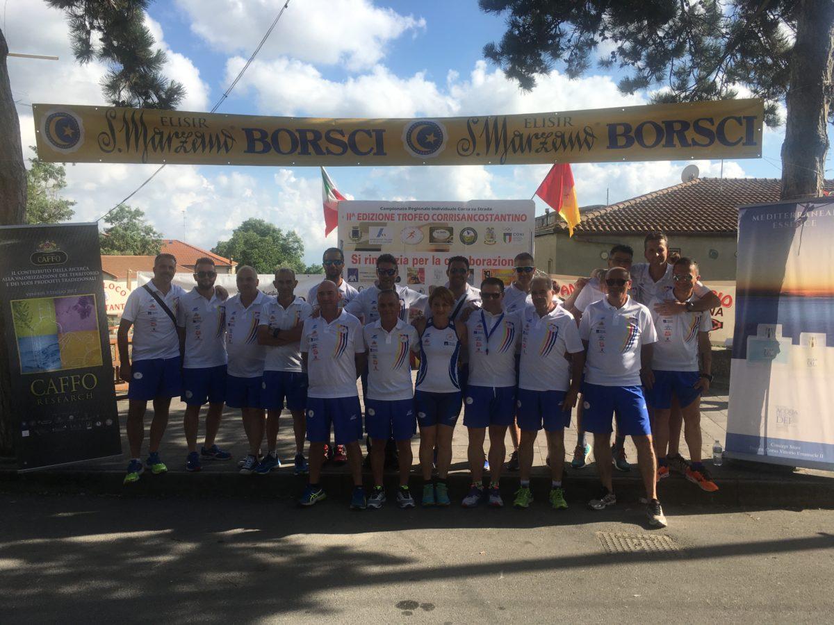 I campionati regionali di corsa su strada