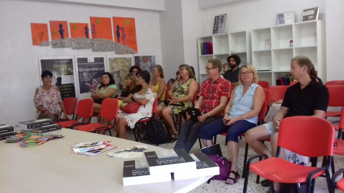 I docenti stranieri in visita all'IS Tropea