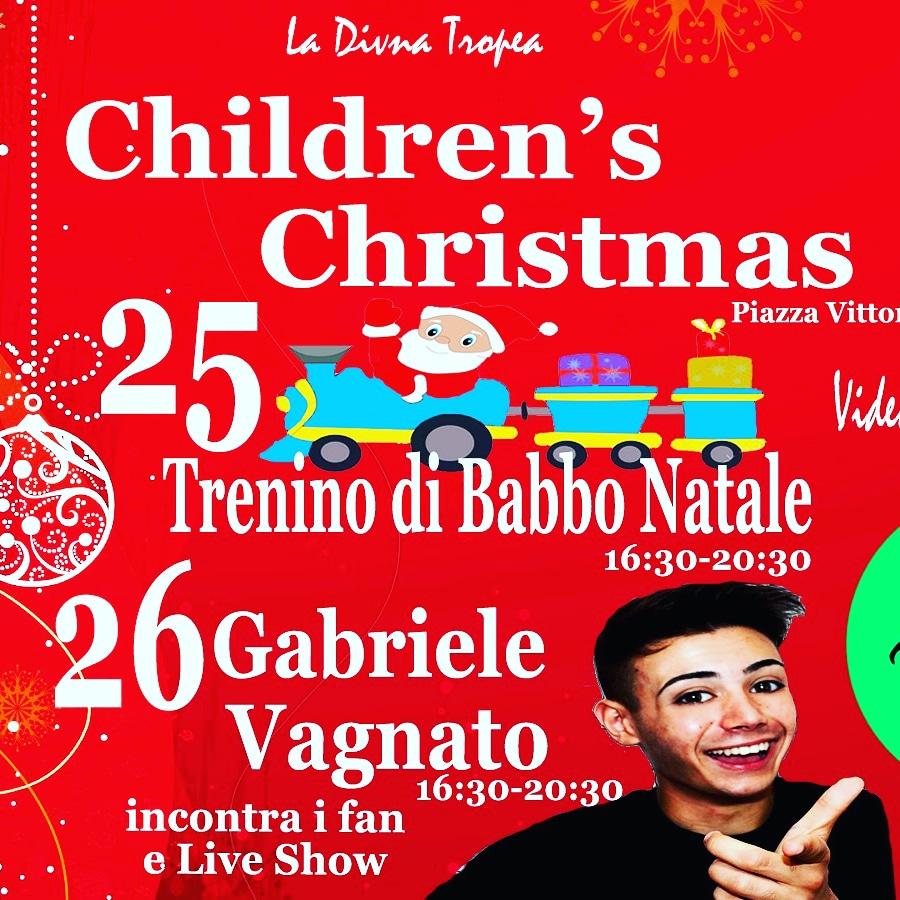 Children's Christmas a Tropea