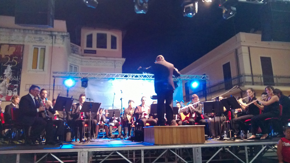 Il concerto di Natale a Tropea