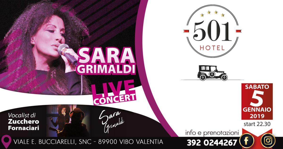Sara Grimaldi al 501 Hotel
