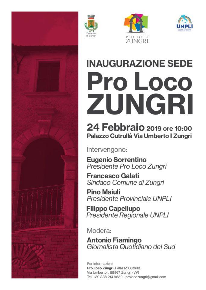 Zungri: la Pro Loco inaugura la nuova sede