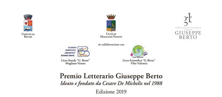 Bandito il  XXVII Premio Berto. Ernesto Ferrero nuovo presidente della giuria