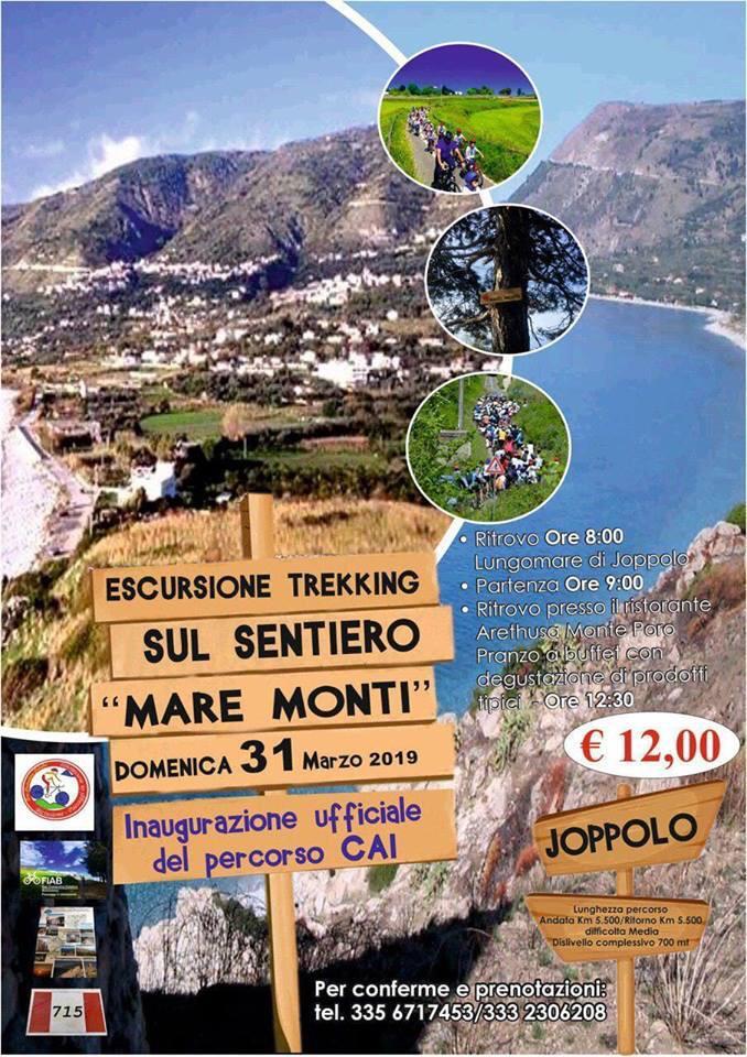 Il Club Alpino Italiano inaugura un nuovo pecorso a Joppolo