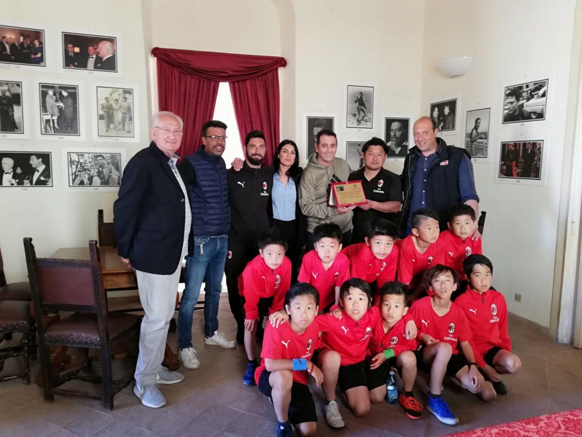L'Academy Japan del Milan a Tropea