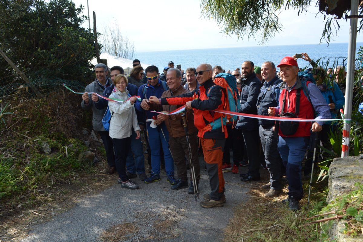 Gran successo per l'inaugurazione del percorso CAI N. 715  Mare-Monti