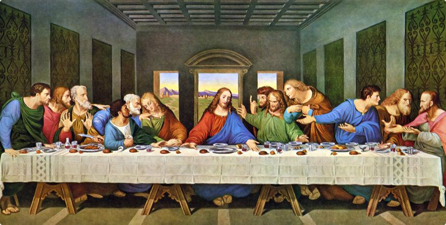 Nuova ipotesi interpretativa sull'ultima cena di Leonardo Da vinci