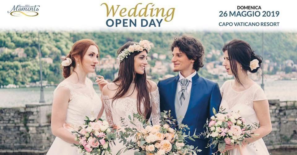 IL 26 MAGGIO IL WEDDING OPEN DAY AL CAPO VATICANO RESORT