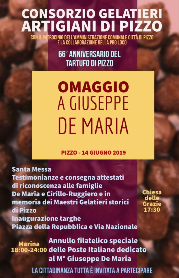 Alla memoria di Giuseppe De Maria sommo gelataio di Pizzo