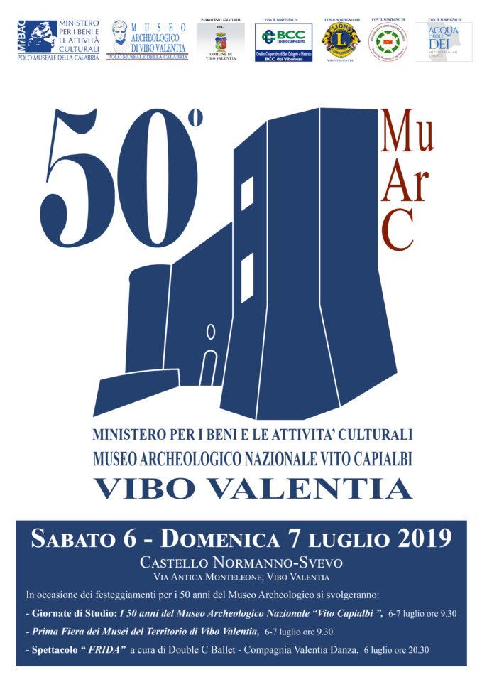 """Il Museo Archeologico Nazionale """"Vito Capialbi"""" di Vibo Valentia compie 50 anni"""