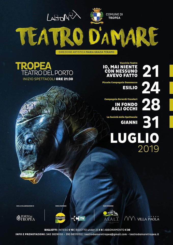 Teatro d'aMare: la V edizione pronta al via