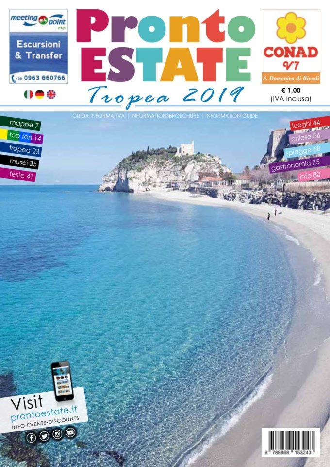 """Nasce quest'anno la nuova guida turistica Pronto Estate """"Tropea"""""""