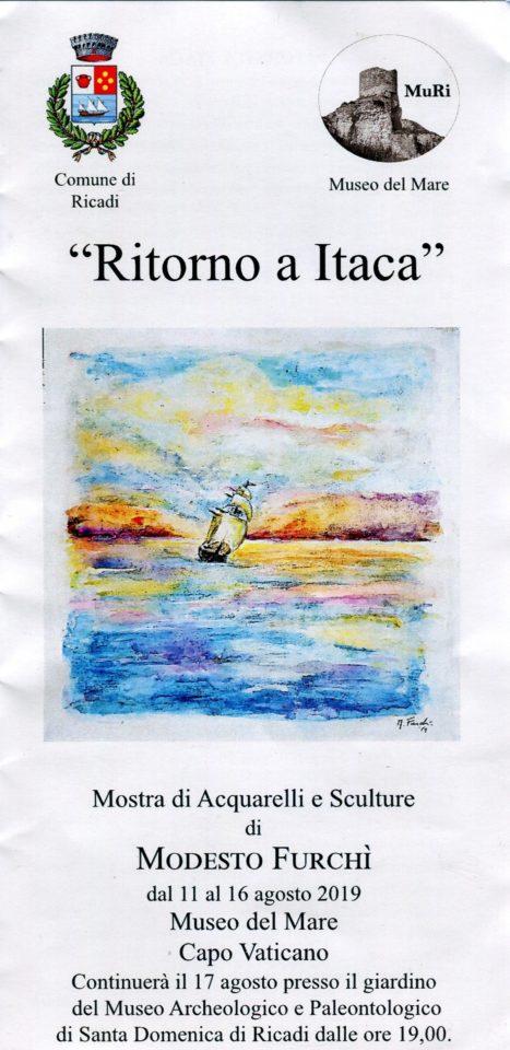 Ritorno ad Itaca: mostra di acquerelli e sculture