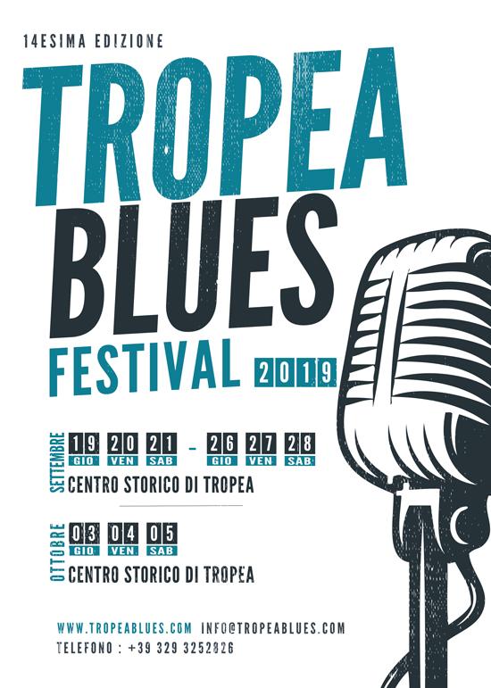Il Tropea Blues Festival giunge alla 14^ edizione