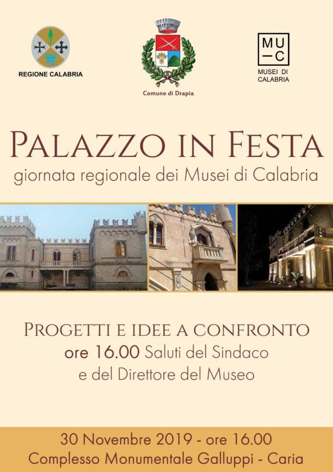 ll Comune di Drapia e il Museo Castello Galluppi aderiscono alla Giornata regionale dei Musei