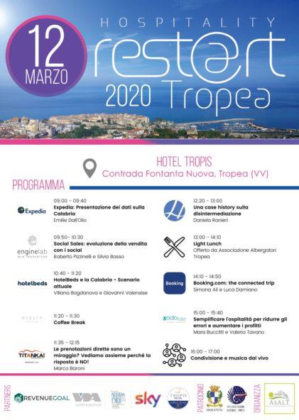 Aperte le iscrizioni ad Hospitality Rest@rt Tropea