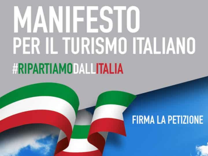 Ripartiamo dall'Italia, Manifesto per il turismo italiano