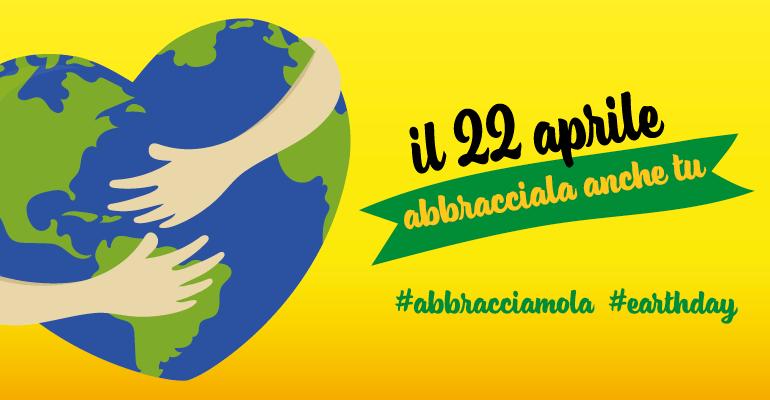 Flashmob virtuale #abbracciamola per earth day 22 aprile