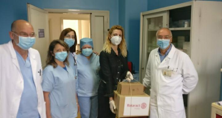 Il Rotatact Club di Tropea scende in campo a fianco degli ospedali di Vibo Valentia e Tropea.