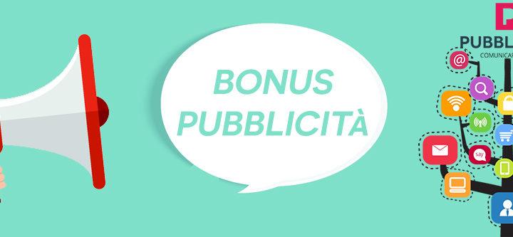 Il Bonus Pubblicità per l'anno 2020