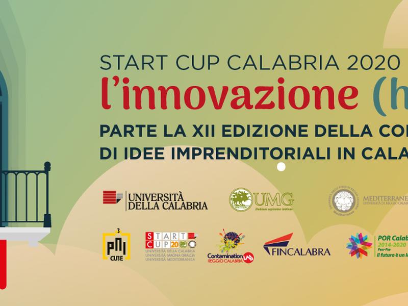 Presentazione start cup Calabria 2020