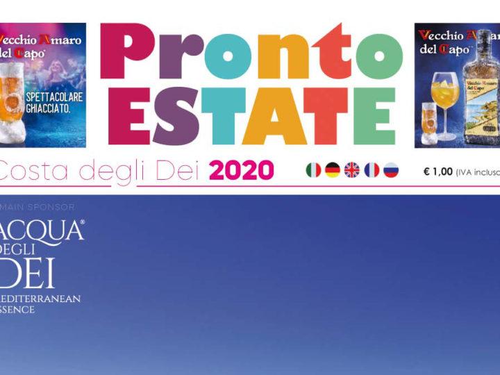 """Pronto Estate """"Costa degli Dei"""" 2020"""