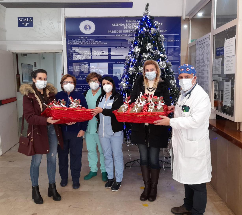 La Befana arriva anche in ospedale grazie al Rotaract Club Tropea