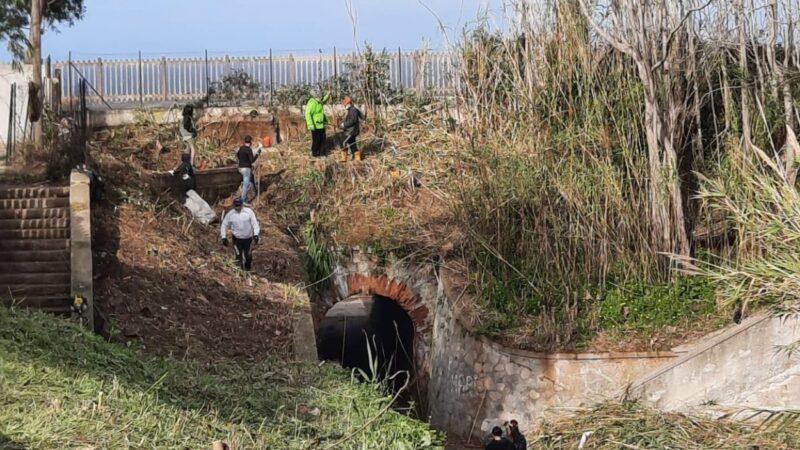 Ricadi, i volontari di SOS Ambiente Ricadi, aiutano a ripulire la zona