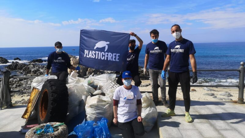 giornata ecologica plastic free a Ricadi