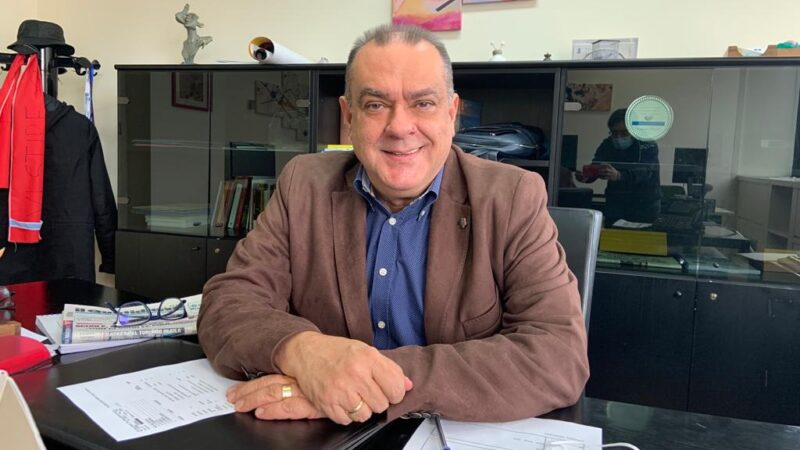 Pasqualino Pandullo caporedattore Tgr Rai Calabria