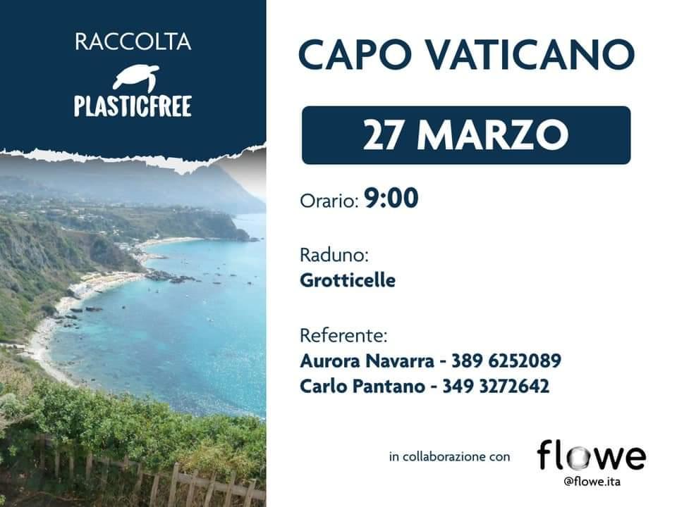 Capo Vaticano: continuano le campagne Plastic free sulla costa degli Dei