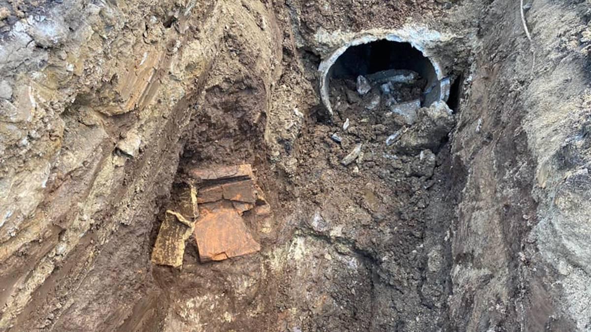 Vibo: Da un cantiere alla scoperta di una tomba di epoca romana
