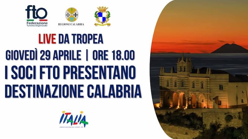"""Tropea, i soci FTO presentano """"Destinazione Calabria"""""""