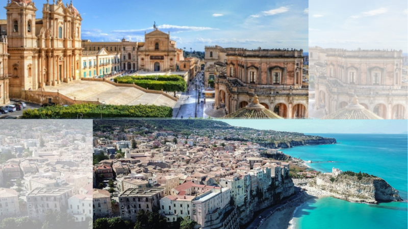 La città di Noto abbraccia Tropea: «uniti da singolari coincidenze»