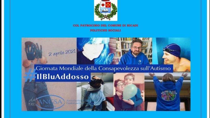 """Ricadi: iniziativa """"Light it Up Blu"""" per la Giornata della Consapevolezza sull'Autismo"""
