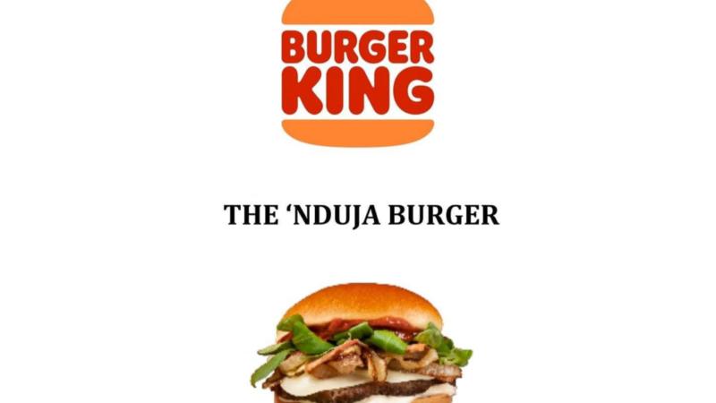 The 'Nduja Burger: il nuovo panino nel menù di Burger King