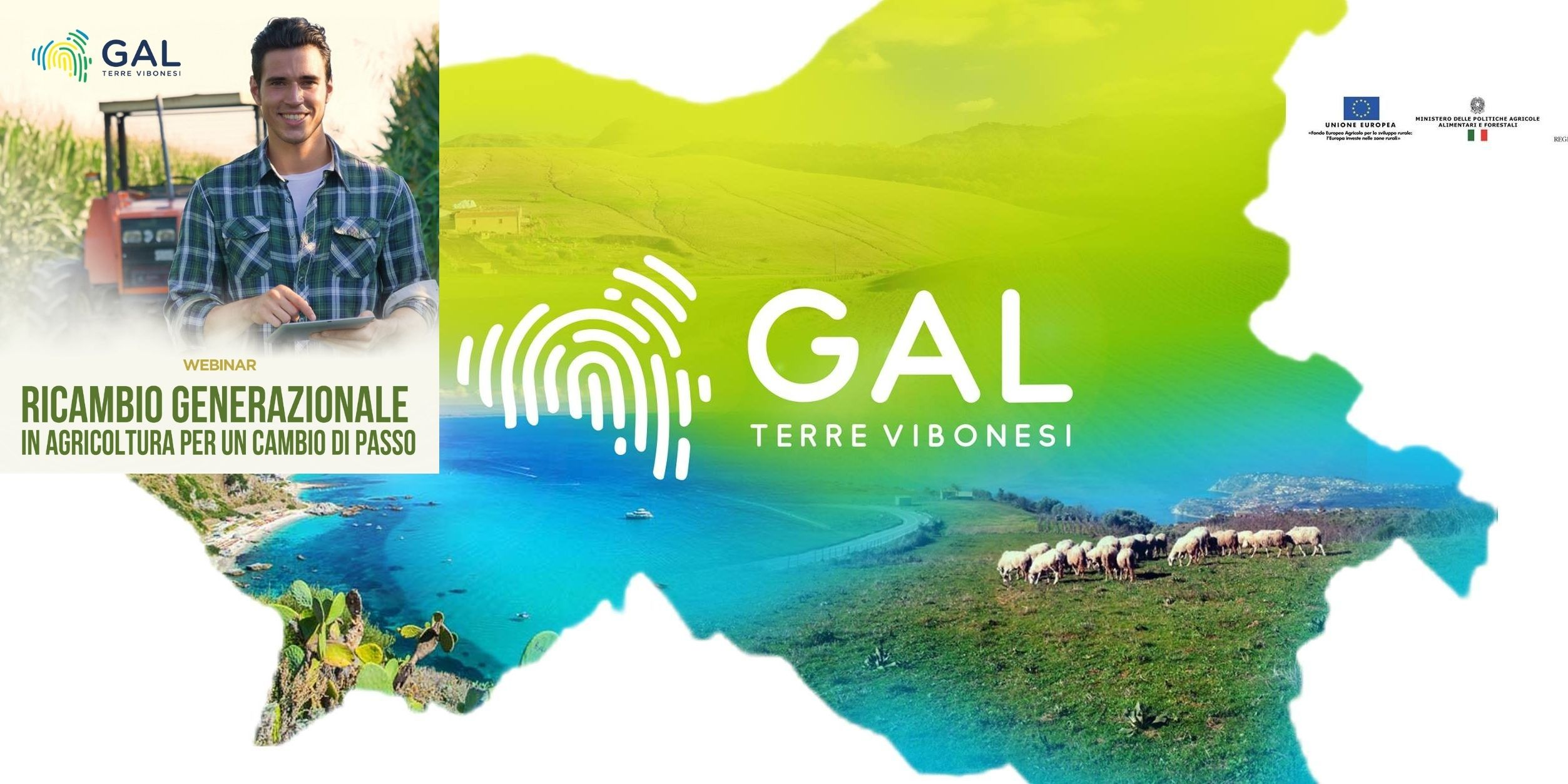 Gal Terre Vibonesi: innovazione imprenditoria agricola, il primo webinar in collaborazione con l'Università di Reggio