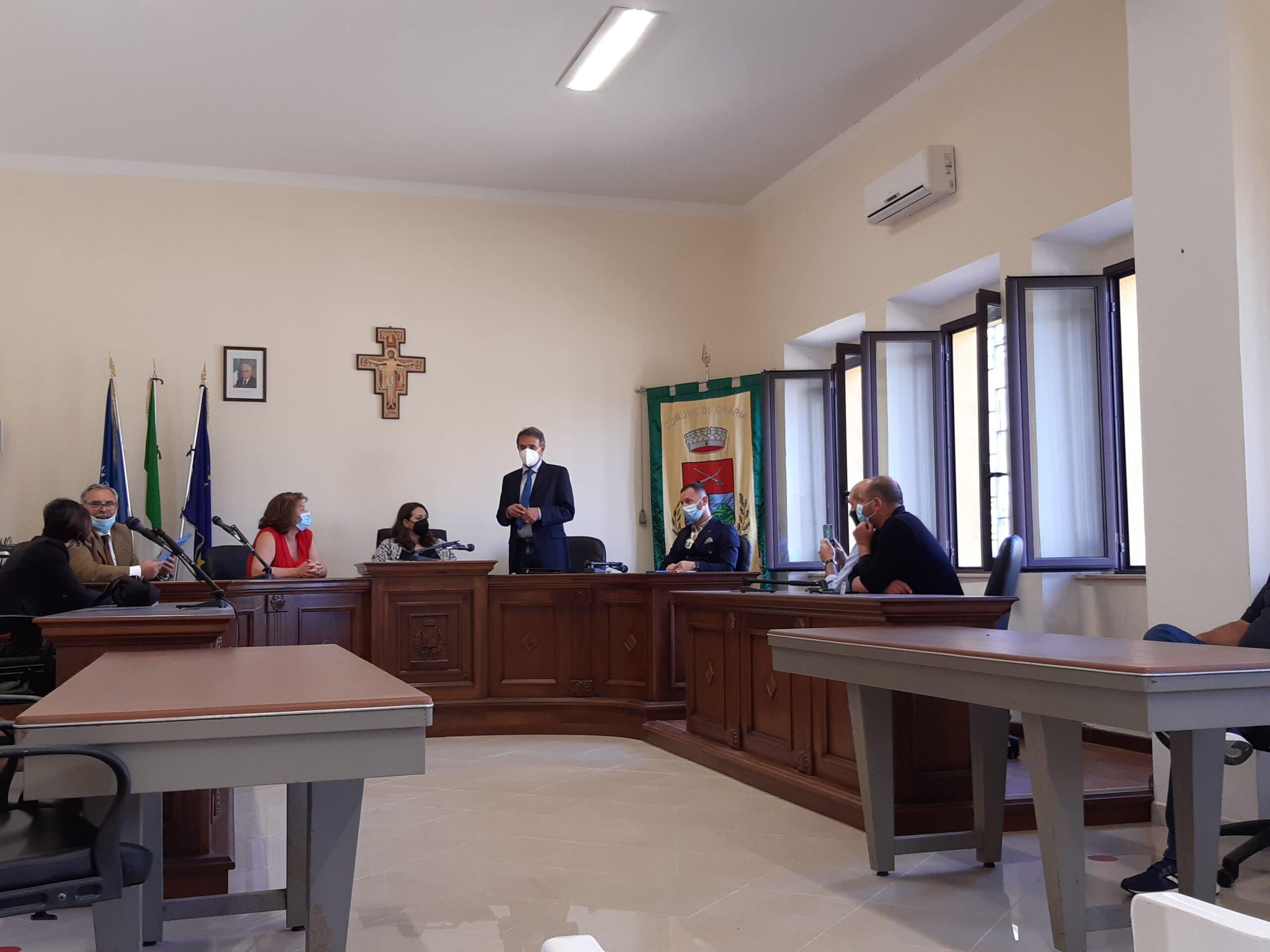 Sottosegretario Dalila Nesci incontra Amministrazione di Drapia