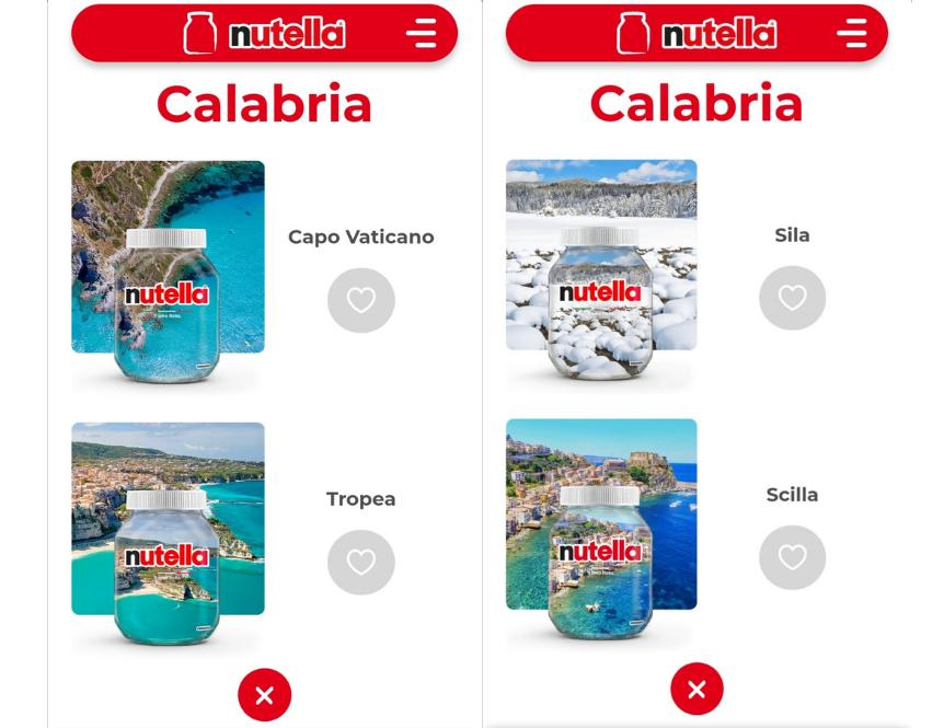 """""""Ti amo Italia"""" 2021: Nutella coinvolge i consumatori per votare il barattolo che rappresenterà la propria regione"""