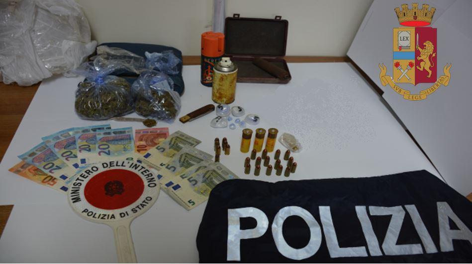 Piscopio, arrestato 23enne per detenzione di sostanze stupefacenti
