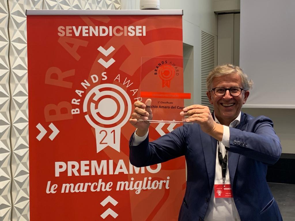 Brands Award 2021: il Vecchio Amaro del Capo vince ancora