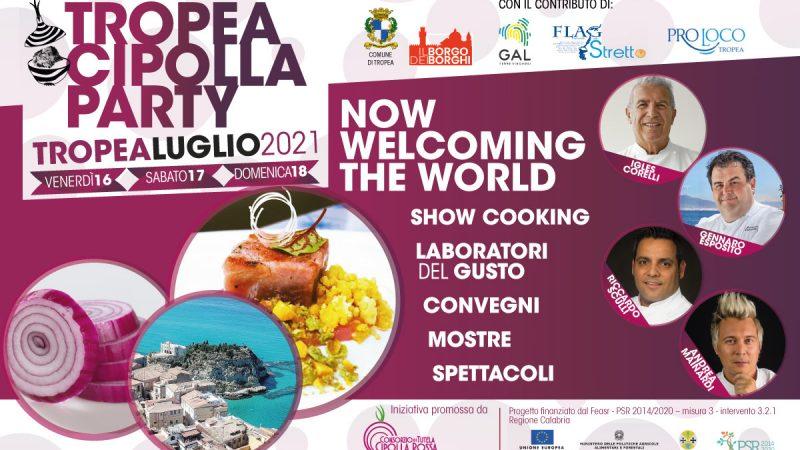 """Il """"Tropea Cipolla Party"""" 2021 è stato una opportunità di benessere condiviso!"""