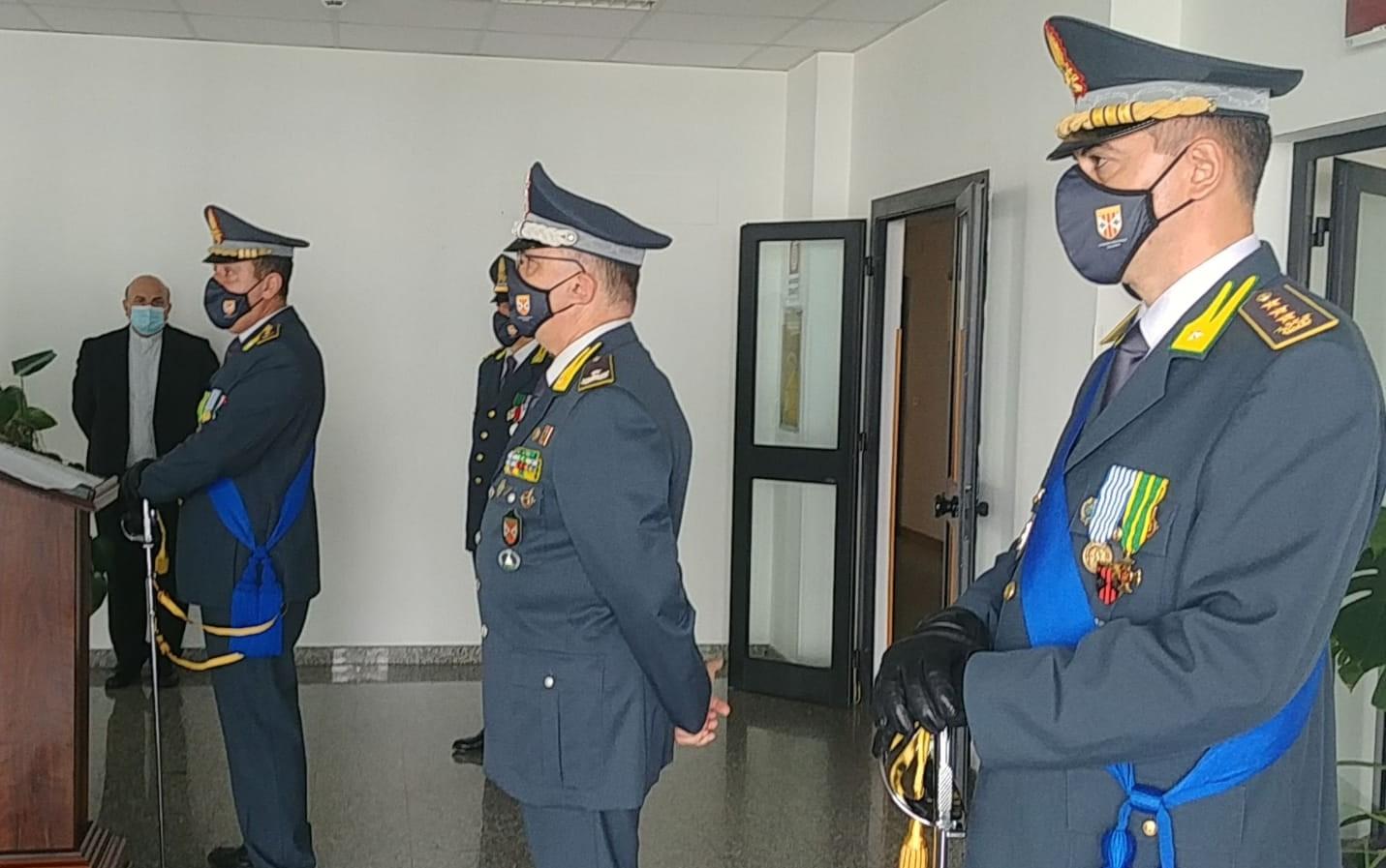 Guardia di Finanza: Prosperi lascia il comando provinciale di Vibo, a sostituirlo è Ghibaudo