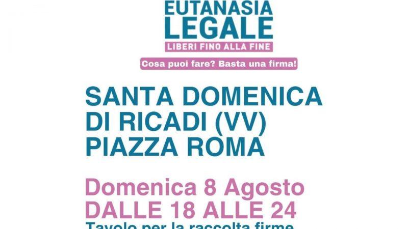 Eutanasia: appuntamento a Santa Domenica per la raccolta firme
