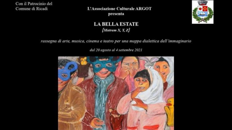 """""""La Bella Estate"""": la rassegna di arte, musica, cinema e teatro nel comune di Ricadi"""
