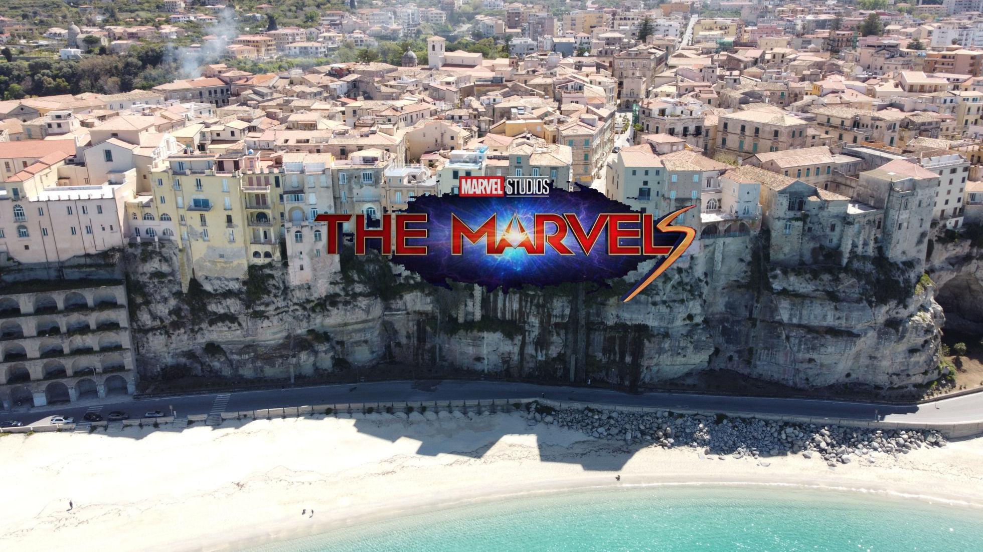 """Tropea: concluse le riprese del film """"The Marvels"""""""